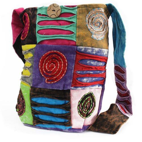 Ethnic Sling Bag - Spiral