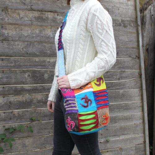 Ethnic Sling Bag - Om