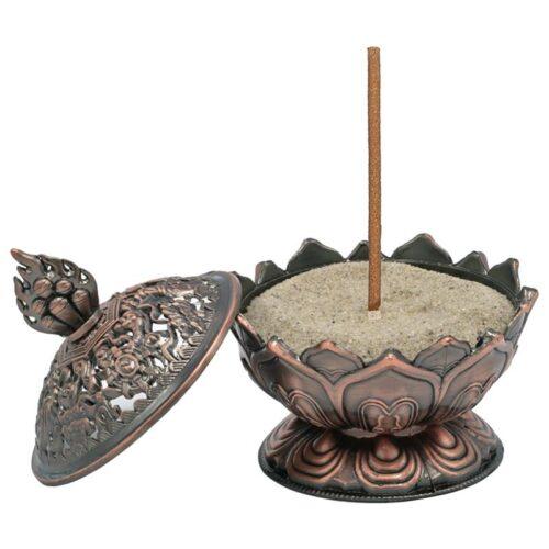 Καυστήρας Ρητινών & Θυμιαμάτων Lotus Copper
