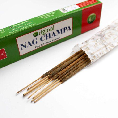 Αρωματικά Στικ Nandita Organic Nag Champa 15γρ