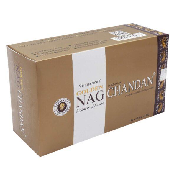 Αρωματικά Στικ Golden Nag Chandan - Σανταλόξυλο 15γρ