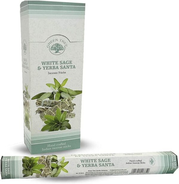 Αρωματικά Στικ Green Tree White Sage & Yerba Santa