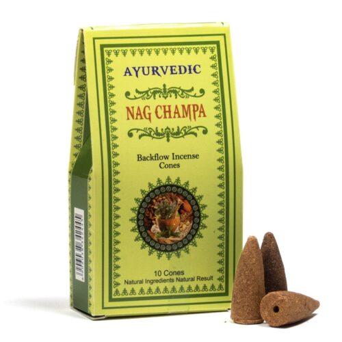 Κώνοι Backflow Ayurvedic Nag Champa