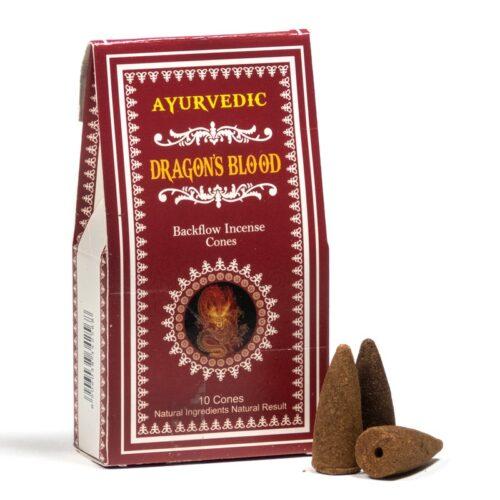 Κώνοι Backflow Ayurvedic Dragons Blood - Αίμα Του Δράκου