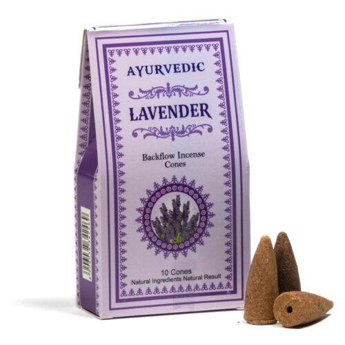 Κώνοι Backflow Ayurvedic Lavender - Λεβάντα
