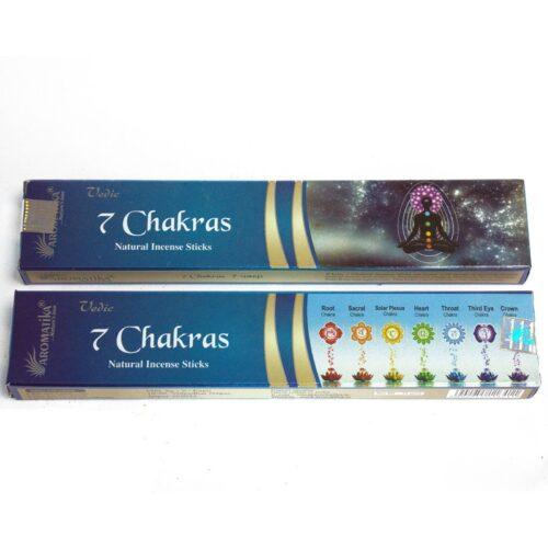 Αρωματικά Στικ Aromatika 7 Chakras - Επτά Τσάκρας 15γρ