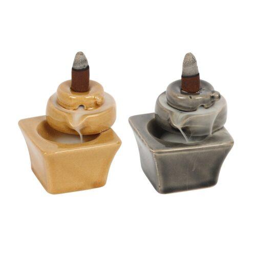 Βάση Κώνων Backflow Grey And Tan Fountain