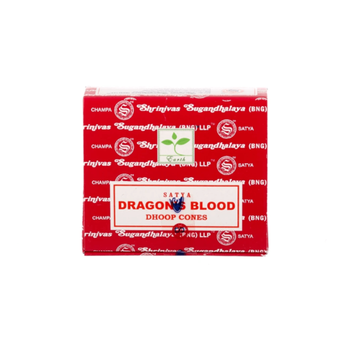 Αρωματικοί Κώνοι Satya Dragons Blood - Αίμα Του Δράκου