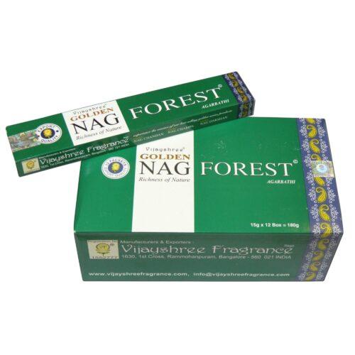 Αρωματικά Στικ Golden Nag Forest - Δάσος 15γρ