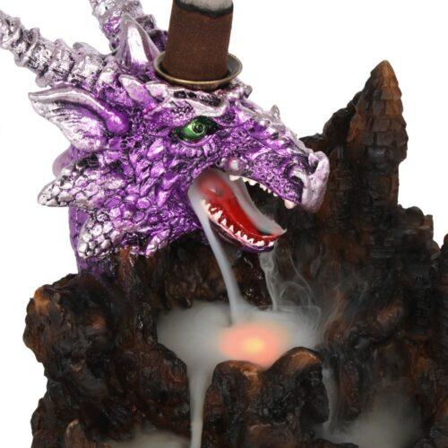 Βάση Κώνων Backflow Purple Dragon With Led Light