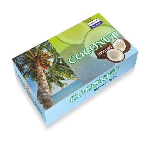 Αρωματικοί Κώνοι Darshan Coconut - Καρύδα
