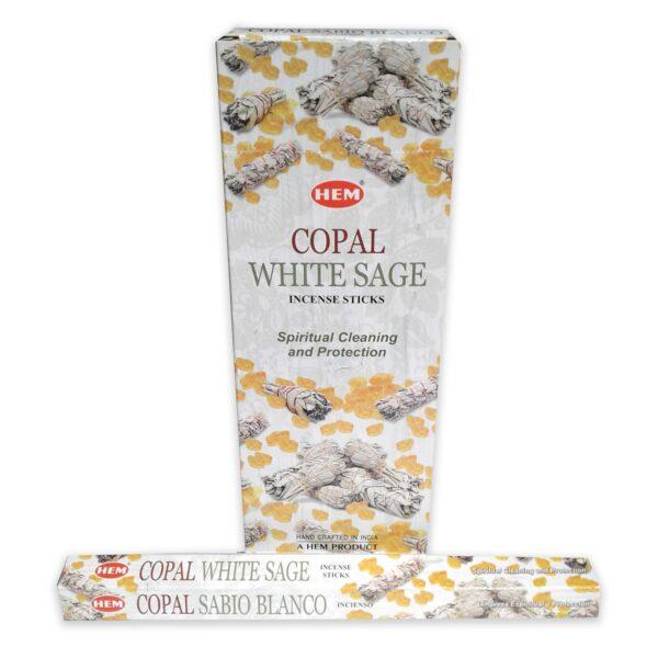 Αρωματικά Στικ HEM Copal White Sage - Κοπάλι Λευκό Φασκόμηλο