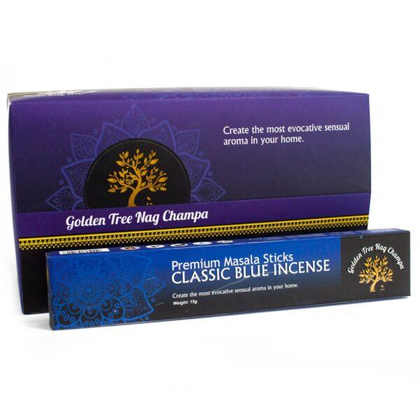 Αρωματικά Στικ Golden Tree Nag Champa Classic Blue