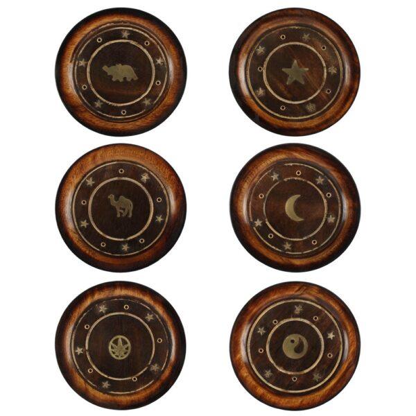 Βάση Αρωματικών Στικ & Κώνων Cozy Mango Wood