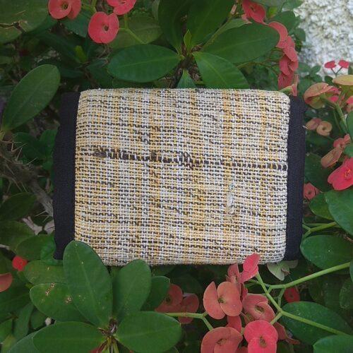 Πορτοφόλι Κάνναβης Yellow Stripe - CANNABISmade