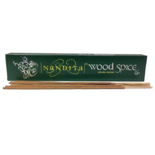 Αρωματικά Στικ Nandita Wood Spice