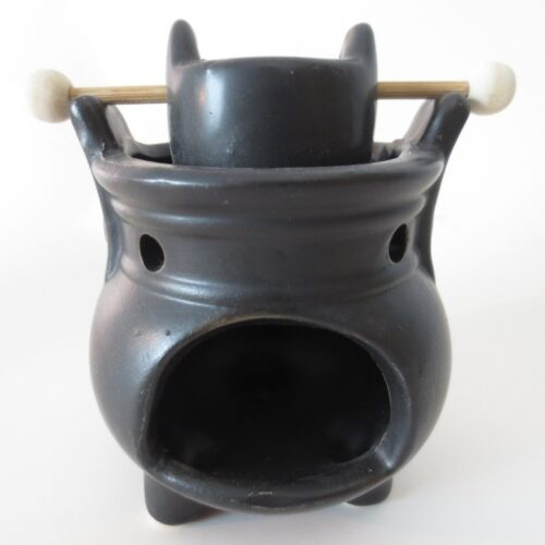 Oil Burner With Lucky Coin
