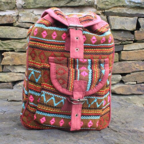 Small Nepali Backpacks - Olive