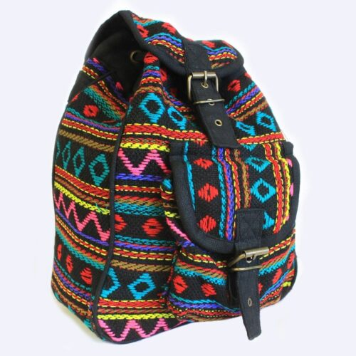 Small Nepali Backpacks - Turquoise
