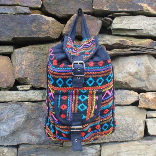Small Nepali Backpacks - Turquoise