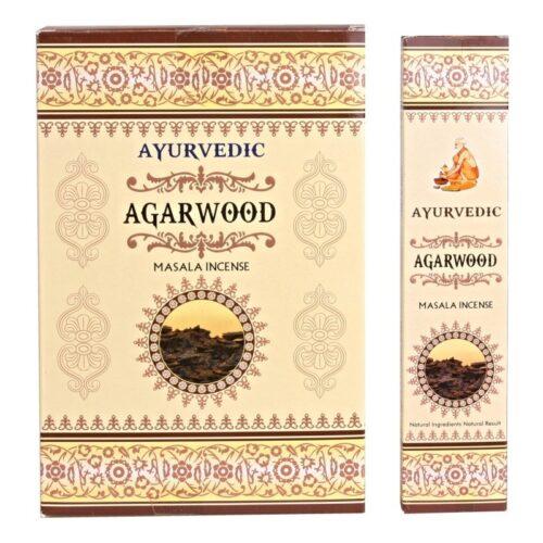 Αρωματικά Στικ Ayurvedic Agarwood 10γρ