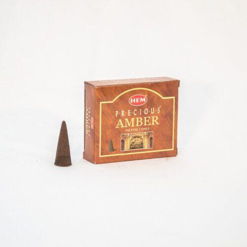 Αρωματικοί Κώνοι HEM Amber - Κεχριμπάρι