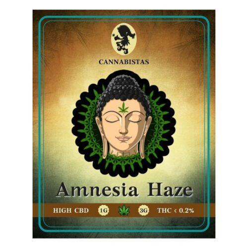 Ανθοί Κάνναβης Amnesia Haze CBD - Cannabistas