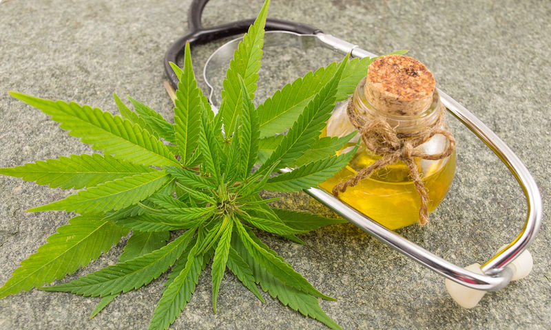 bigstock Marijuana Cannabis Oil And St 162852497