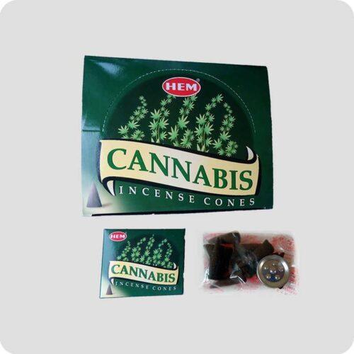 Αρωματικοί Κώνοι HEM Cannabis - Κάνναβη