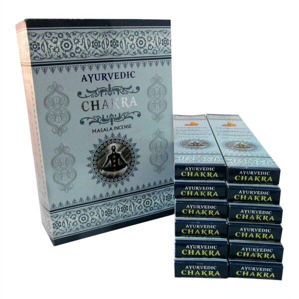 Αρωματικά Στικ Ayurvedic Chakra - Τσάκρα 10γρ