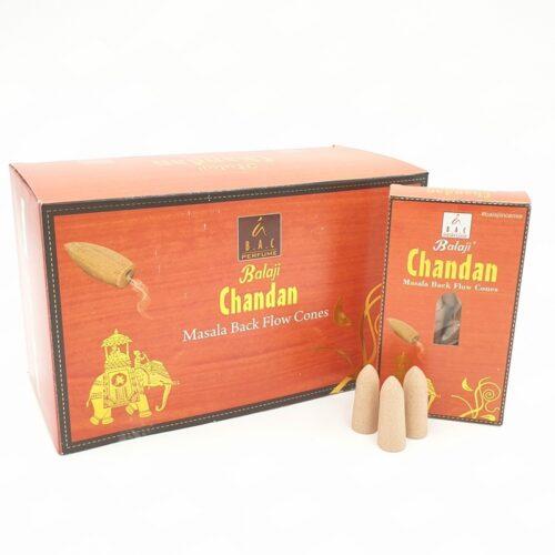 Κώνοι Backflow Balaji Chandan - Σανταλόξυλο