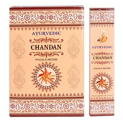 Αρωματικά Στικ Ayurvedic Chandan - Σανταλόξυλο 10γρ