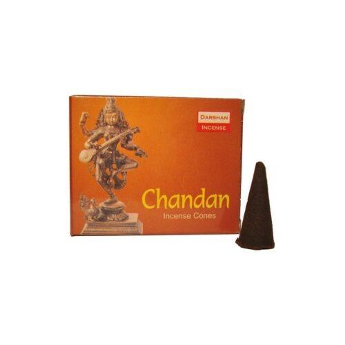 Αρωματικοί Κώνοι Darshan Chandan - Σανταλόξυλο