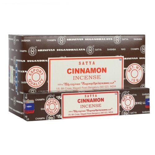 Αρωματικά Στικ Satya Cinnamon - Κανέλα 15γρ