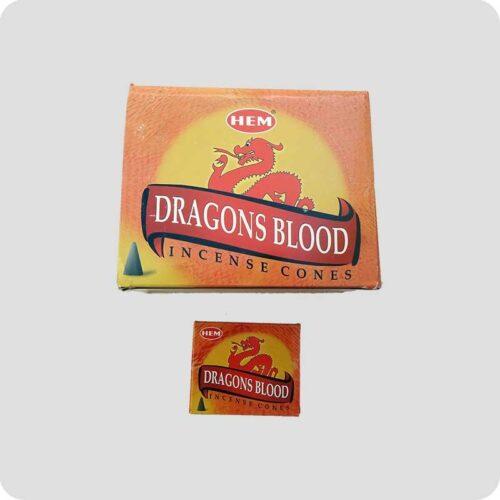 Αρωματικοί Κώνοι HEM Dragons Blood - Αίμα Του Δράκου