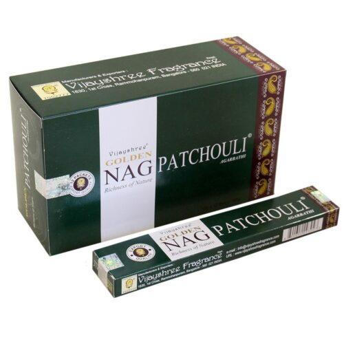 Αρωματικά Στικ Golden Nag Patchouli - Πατσουλί 15γρ