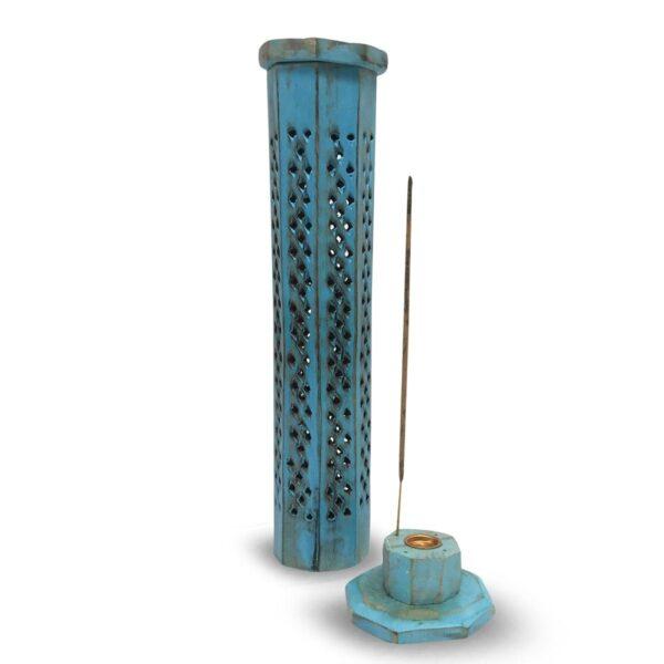 Βάση Αρωματικών Στικ & Κώνων Πύργος Τιρκουάζ