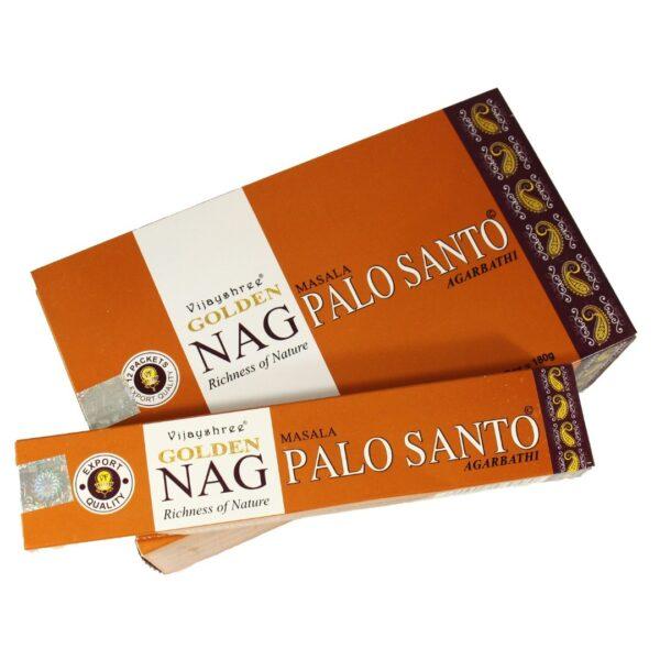Αρωματικά Στικ Golden Nag Palo Santo - Πάλο Σάντο 15γρ