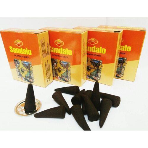 Αρωματικοί Κώνοι SAC Sandalo - Σανταλόξυλο