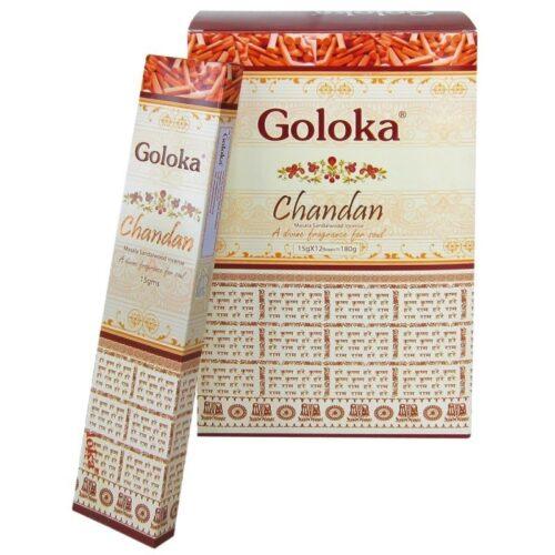 Αρωματικά Στικ Goloka Chandan - Σανταλόξυλο 15γρ