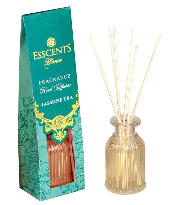 Jasmine Tea Fragrance Reed Diffuser 80ml - Esscents Home