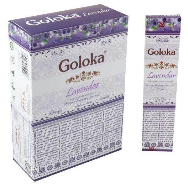 Goloka Lavender Incense Sticks 15gr