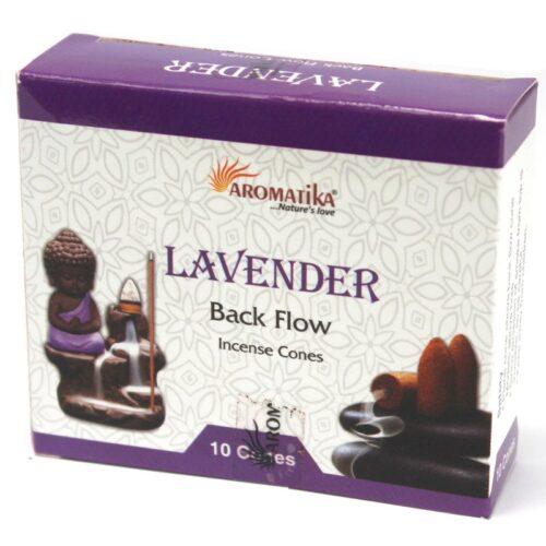 Κώνοι Backflow Aromatika Lavender - Λεβάντα