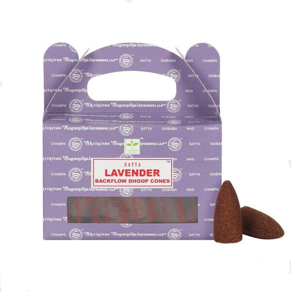 Κώνοι Backflow Satya Lavender - Λεβάντα