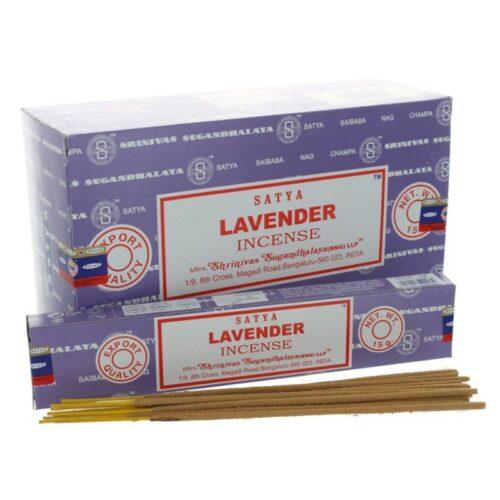 Αρωματικά Στικ Satya Lavender - Λεβάντα 15γρ