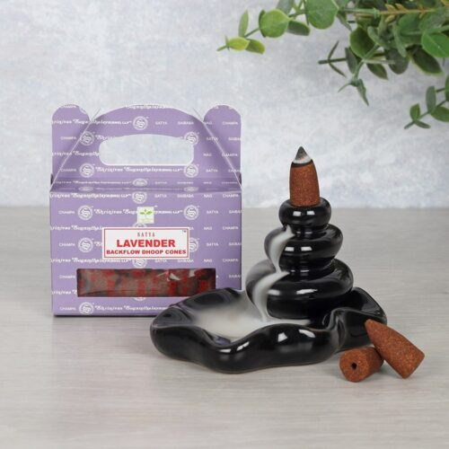 Lavender Satya - Nag Champa Backflow Cones