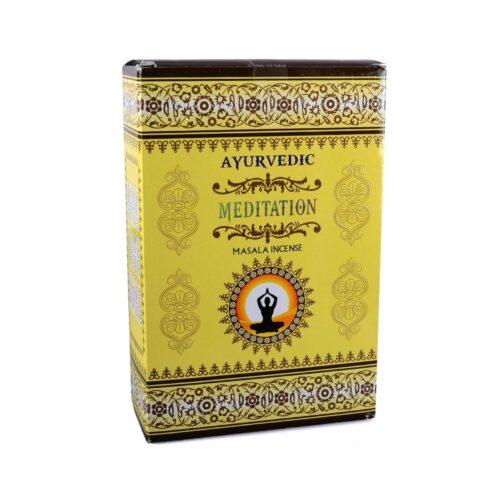 Αρωματικά Στικ Ayurvedic Meditation - Διαλογισμός 10γρ