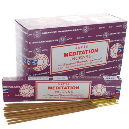 Αρωματικά Στικ Satya Meditation - Διαλογισμός 15γρ
