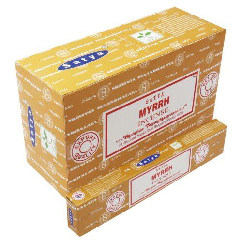 Αρωματικά Στικ Satya Myrrh - Μύρο 15γρ
