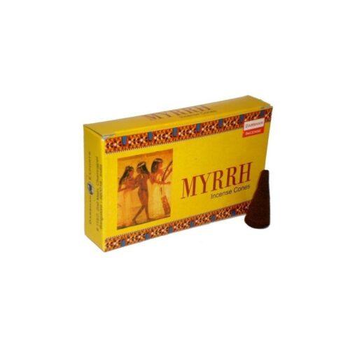 Αρωματικοί Κώνοι Darshan Myrrh - Μύρο